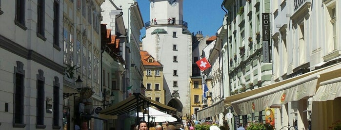 Michalská brána | St. Michael's Gate is one of Slovakia: Dining, Coffee, Nightlife & Outings.