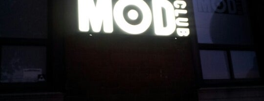 Virgin Mobile Mod Club is one of Tour Locales.