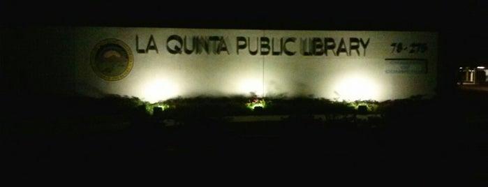 La Quinta Public Library is one of Lieux qui ont plu à Keith.