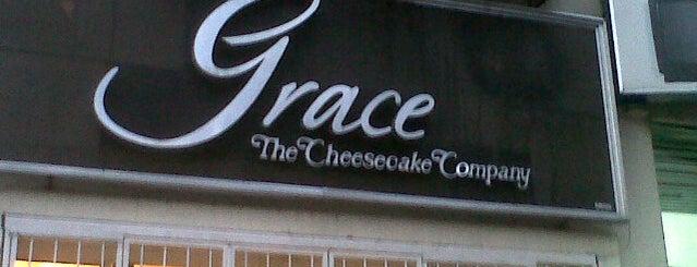 Grace The Cheesecake Company is one of Tempat yang Disimpan MIllie.