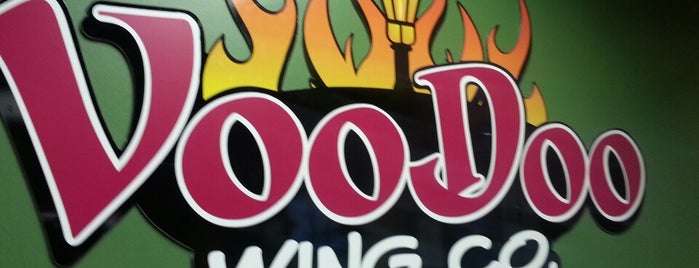 Voodoo Wing Co. is one of Brad eats.