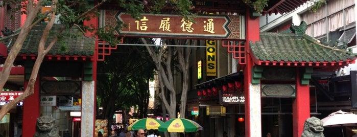 Chinatown is one of Australia.