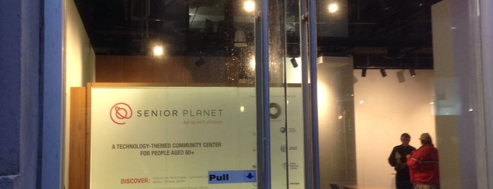The Senior Planet Exploration Center is one of Explore Our Chamber.