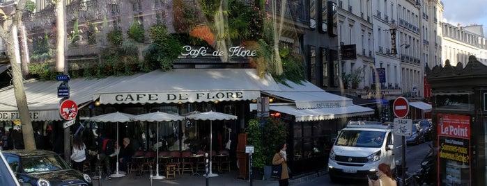 Le Café des Fleurs is one of #Paris.