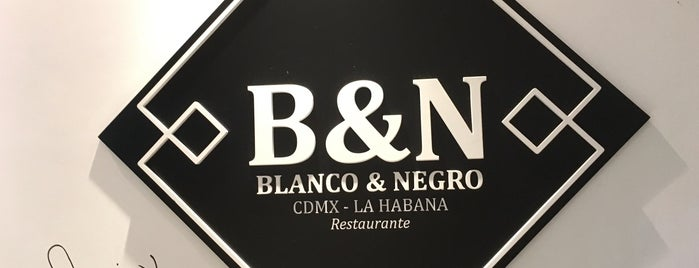 Blanco&Negro is one of Mapamundi Gastronómico.