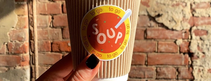 Soup To Go is one of Tempat yang Disimpan Елена.