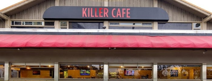 Killer Cafe is one of Comedians Getting Coffee.