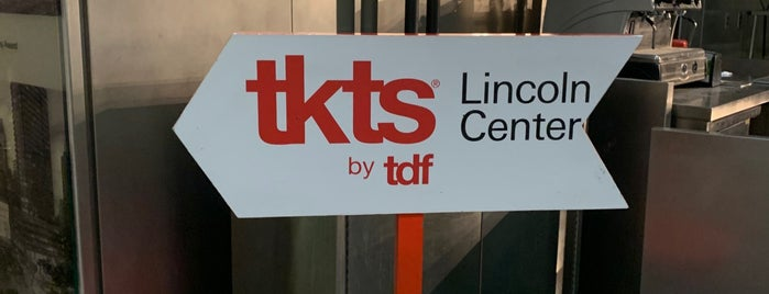 TKTS Lincoln Center is one of NYC #Maura.