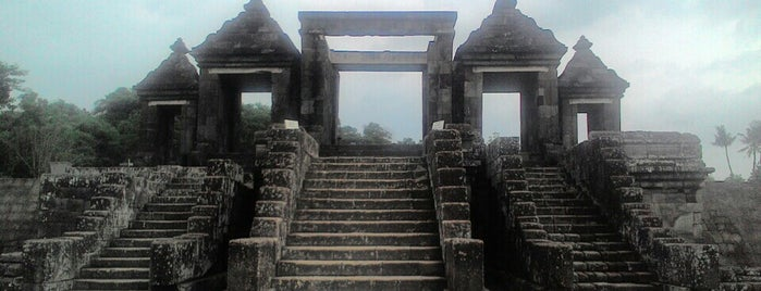 Kraton Ratu Boko (Ratu Boko Palace) is one of Outing Trip.