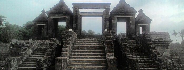 Kraton Ratu Boko (Ratu Boko Palace) is one of Outing Trip.