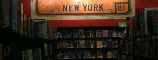 Forbidden Planet is one of Bookstores NYC.