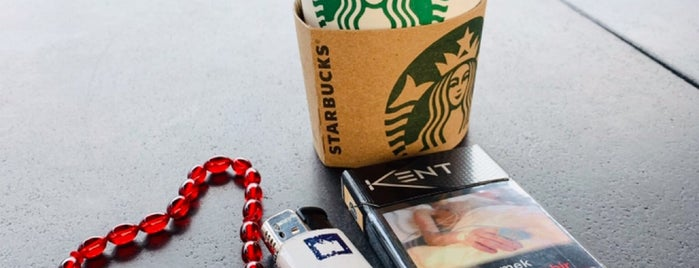 Starbucks is one of İstanbul.