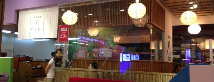 Yamamoto matcha cafe @vincom a is one of Locais curtidos por Uyen.