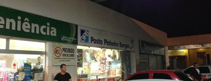 Posto Pinheiro Borges (BR) is one of ATM - Onde encontrar caixas eletrônicos.