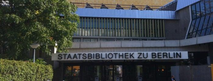 Staatsbibliothek zu Berlin is one of Locais curtidos por Emre.