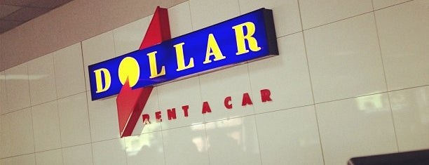 Dollar Rent A Car is one of Locais curtidos por Cristina.