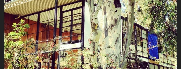 The Eames House (Case Study House #8) is one of LA.
