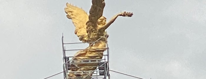 The Angel Of Independence is one of Mexico city.