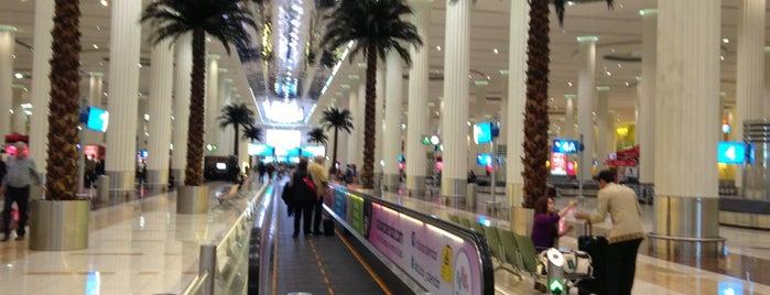 Dubai Uluslararası Havalimanı (DXB) is one of Official airport venues.