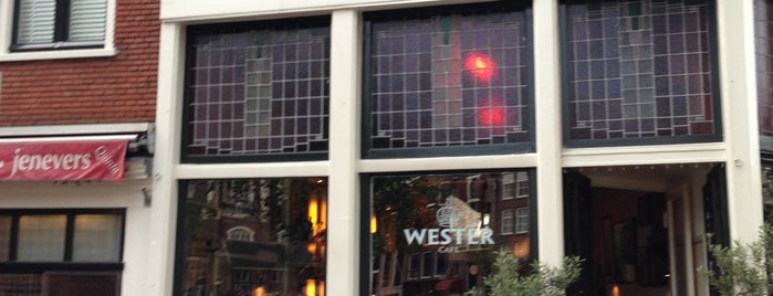 Cafe Wester is one of Amsterdam.