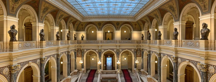 National Museum - Concert hall is one of Prag.