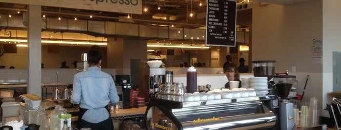 Peregrine Espresso is one of Washington Post Best Coffeeshops.