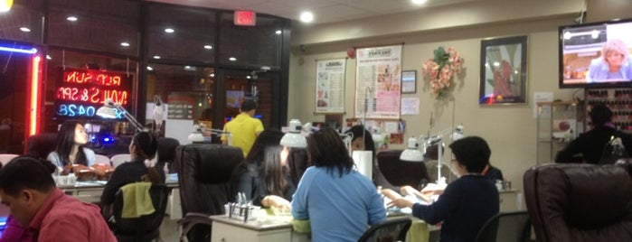 Red Sun Nails is one of Jeannie's Saved Places.