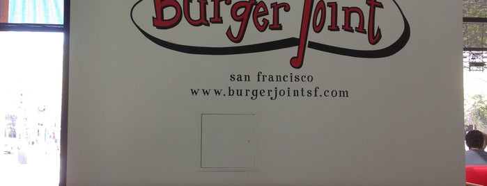 Burger Joint is one of LevelUp merchants in San Francisco!.