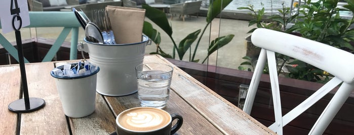 The Galley at Sydney Boathouse is one of Caffeine hit.