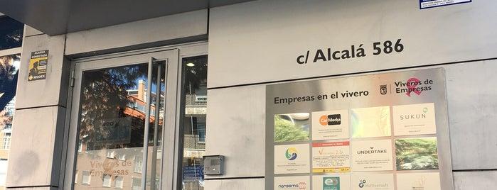 Vivero de Empresas de San Blas. Madrid Emprende is one of Consultoría/Formación.