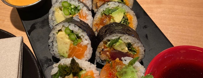 Sushi-san is one of Chicago Favorites.