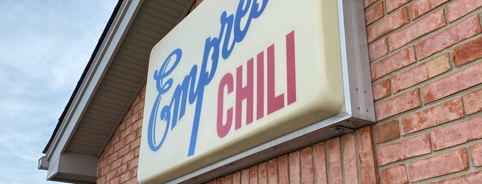Empress Chili is one of Cincy.