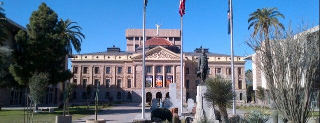 アリゾナ州会議事堂 is one of Places to visit in Phoenix/Scottsdale.