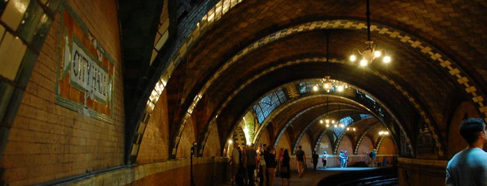 IRT Subway - City Hall (Abandoned) is one of try this: nyc.