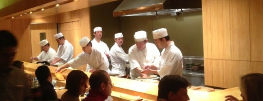 Sushi Yasuda is one of nYc.
