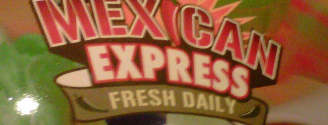 Mexican Express is one of Lugares guardados de Jet.