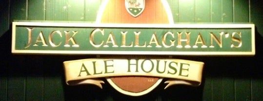 Jack Callaghan's Ale House is one of Andrew 님이 저장한 장소.
