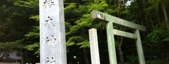 椿大神社 is one of Orte, die ばぁのすけ39号 gefallen.