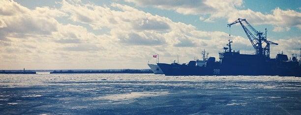 Kronstadt is one of П.