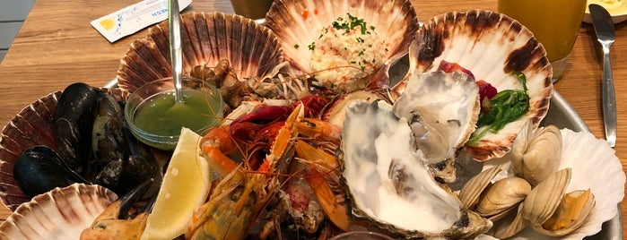 The Seafood Bar is one of Amsterdam to try.