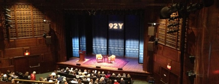 92nd Street Y is one of The New Yorker's About Town.