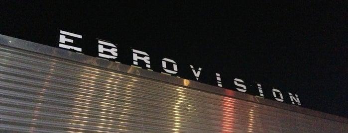 Ebrovisión is one of Para hacer check-in.