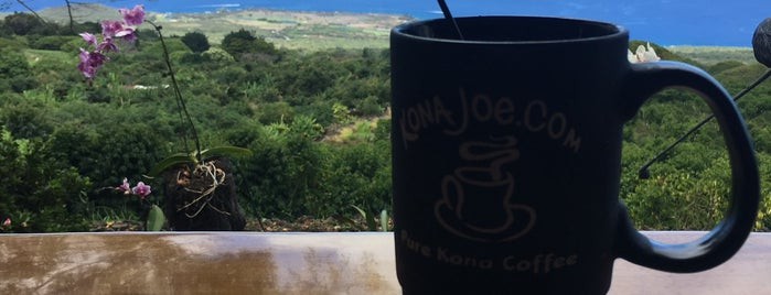 Kona Joe Coffee is one of Hawaii.