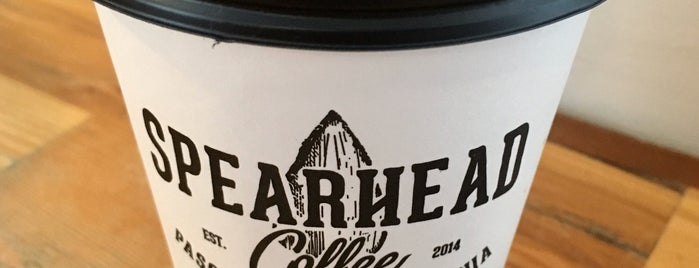 Spearhead Coffee is one of Paso Robles.