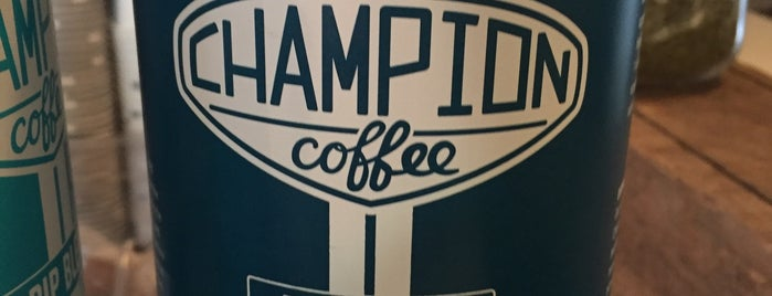 Champion Coffee is one of New York's Best Coffee Shops - Manhattan.