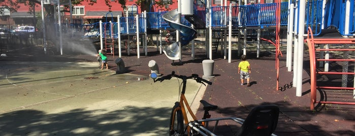 Oxport Playground is one of Where to play ball — Public Courts.