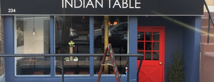 Indian Table is one of 2018 Place to go & Things to eat.