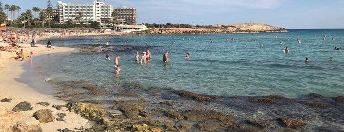 Nissi Beach is one of Lugares favoritos de Nataliya.