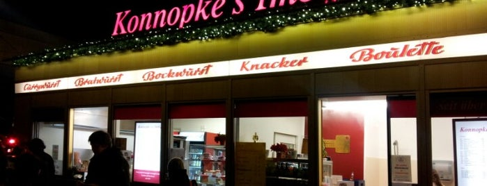 Konnopke's Imbiß is one of Berlin.