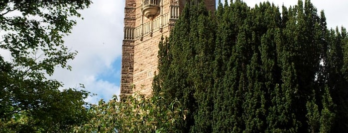Cabot Tower is one of Bristol, May 2014.